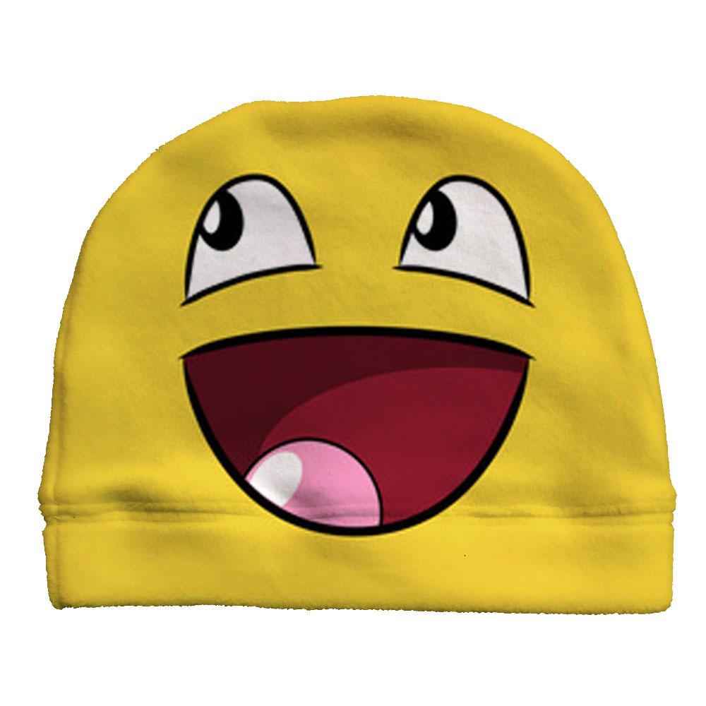 Click to enlarge. HomeShopBeanies Custom Emoji Lalala Fleece Beanie d098caec2319