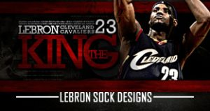 Lebron James Custom Socks