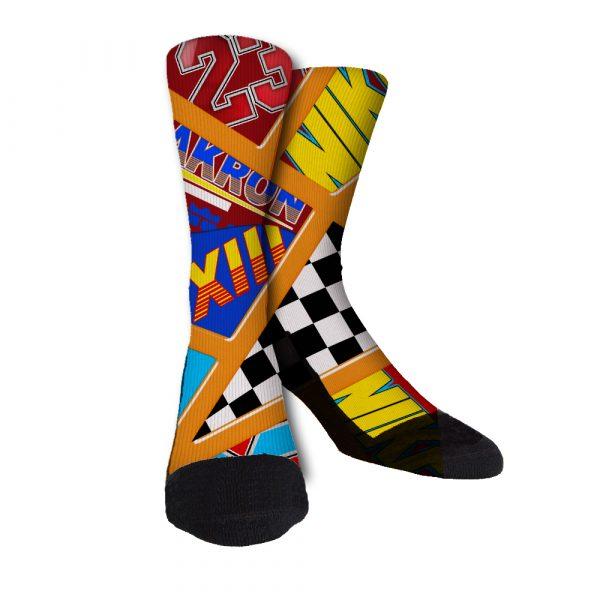 crazy lebron socks