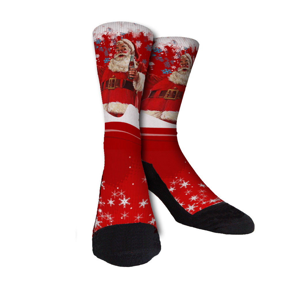SantaCokeSocks