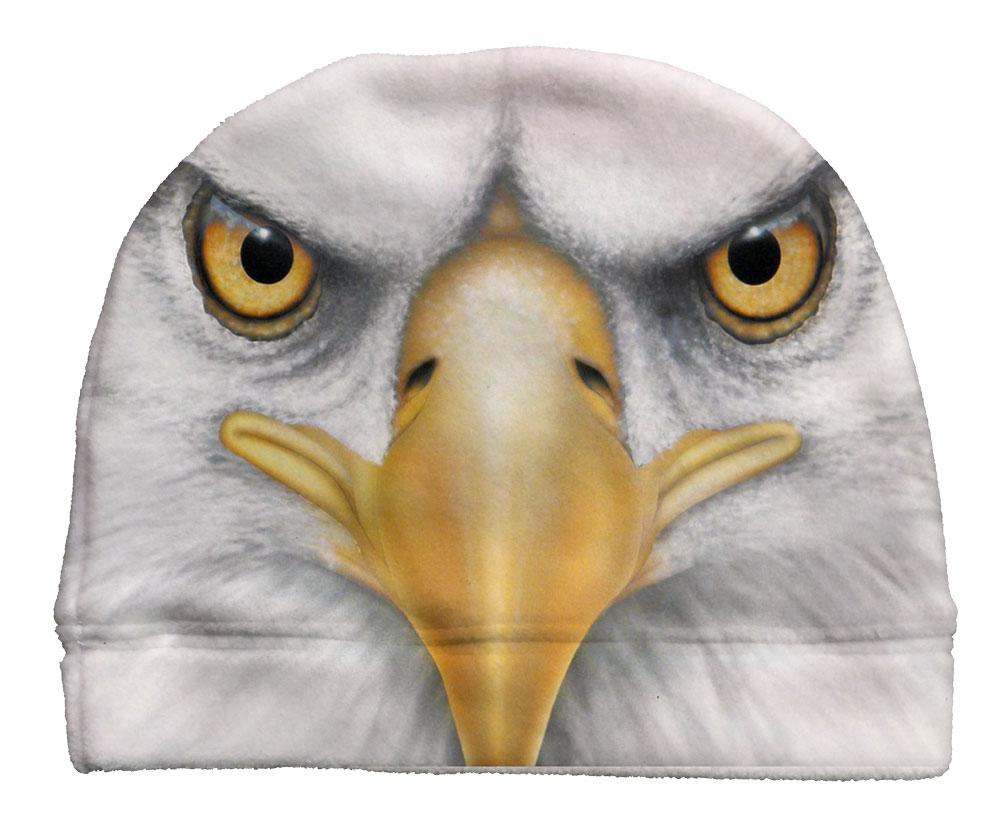 Eagle Fleece Beanie Custom Socks by JustSockz 8d0de4a307a5
