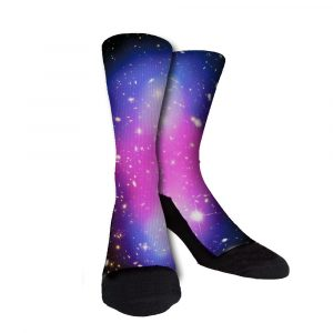 Galaxy Two Custom Crew Socks