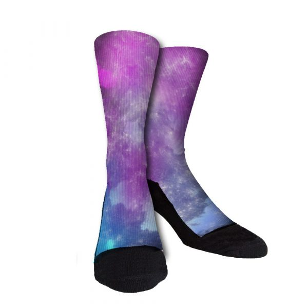 Galaxy Storm Custom Crew Socks