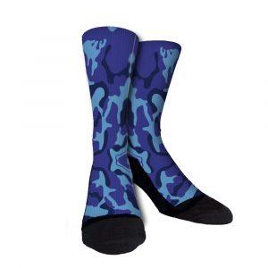 Jazz Camo Custom Crew Socks