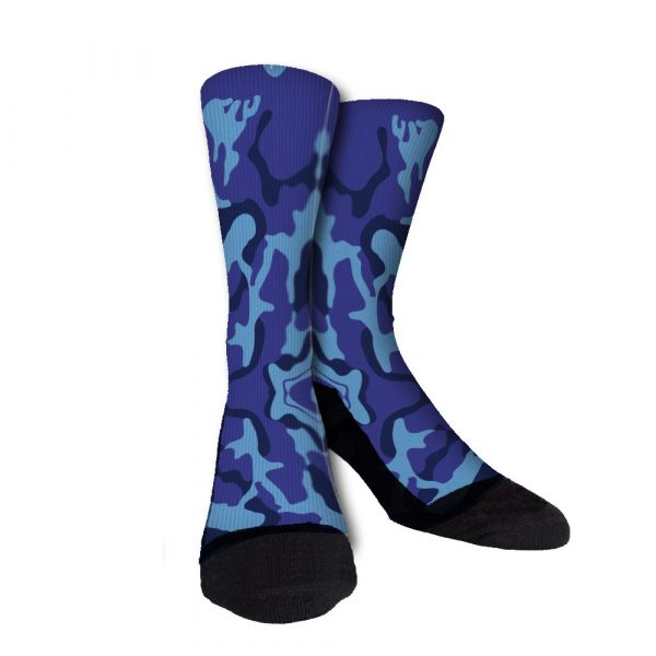 Jazz Camo Custom Crew Socks