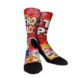 Just Loopy Fruit Loop Custom Socks