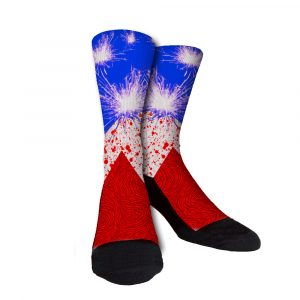 KD Patriot Sparks Crew Socks