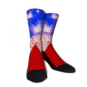 KD Patriot Sparks Crew Socks