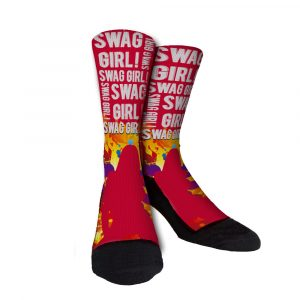 Swag Girl Custom Socks