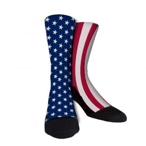 The Patriot Custom Crew Sock