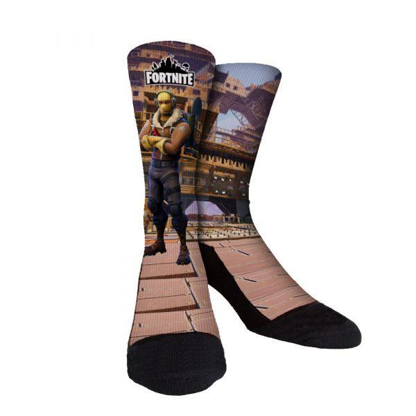 Fortnite Neon Voyager Custom Socks