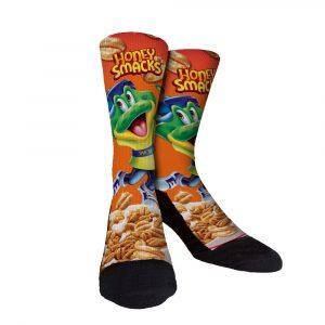 Honey Smacks Custom Socks