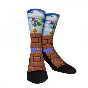 Mario Flight Custom Socks