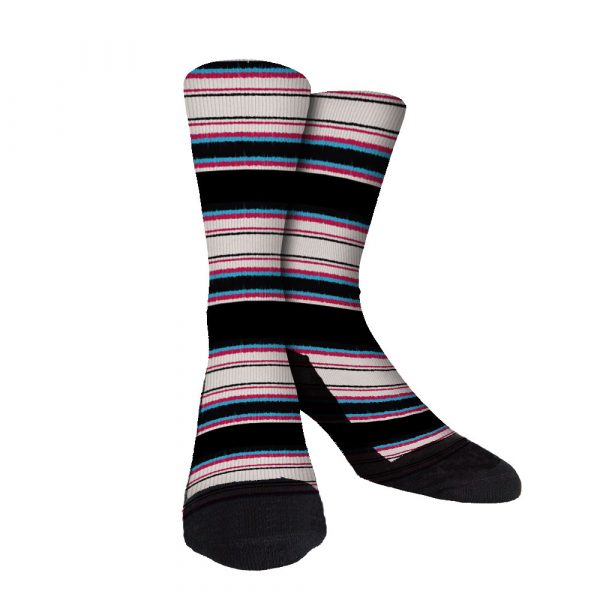 Pro Stripe 12 Custom Crew Socks