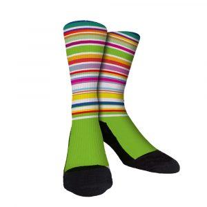 Pro Stripe 7 Cusotm Socks