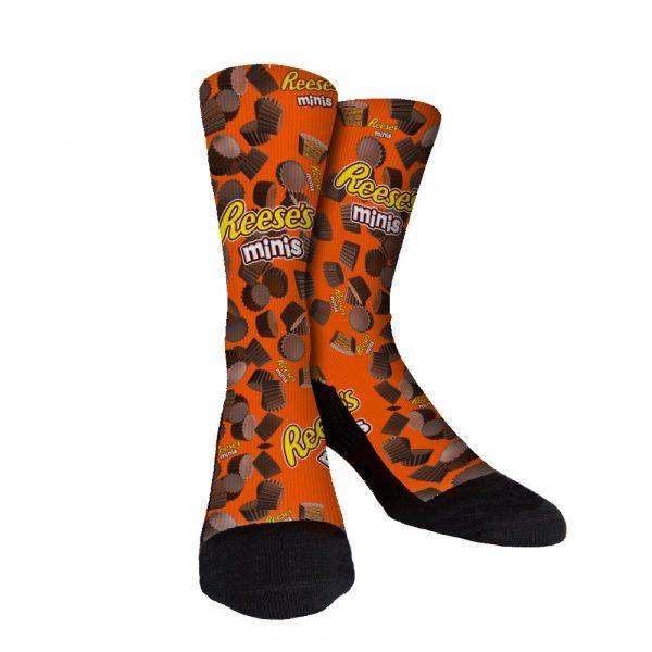 Reeses Minis Custom Socks