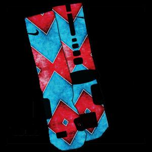 Flaming Hot Cheetos Custom Crew Socks By JustSockz feec40ef5ab4