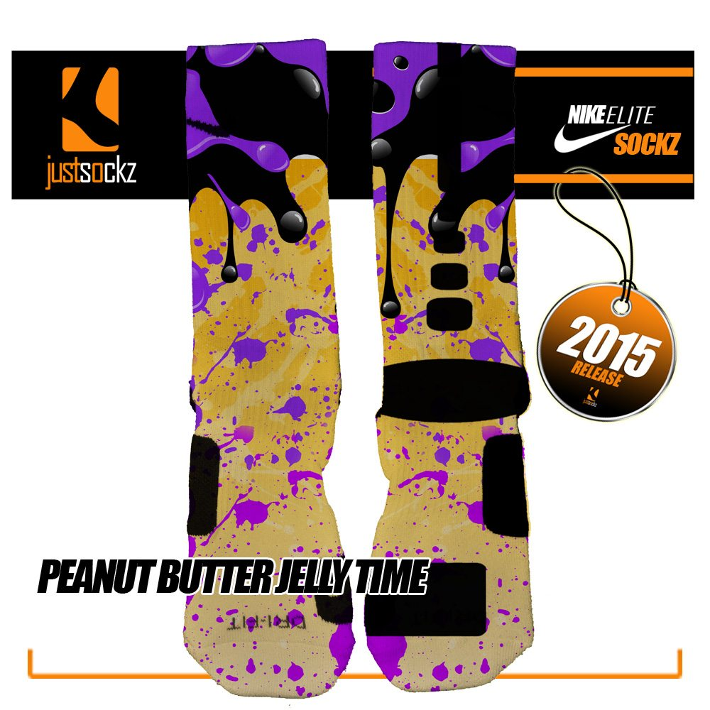 3dab25fe1546 Click to enlarge. HomeShopAll Socks Peanut Butter and Jelly Time